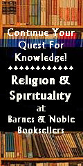 banner ad for Religion and Sprituality index page at Barnes and Noble Booksellers