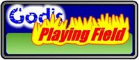 logo for God's Playing Field game